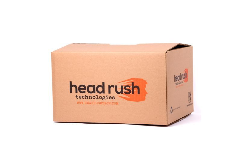 HRT BOX - WITH FOAM INSERTS HEAD RUSH TECHNOLOGIES